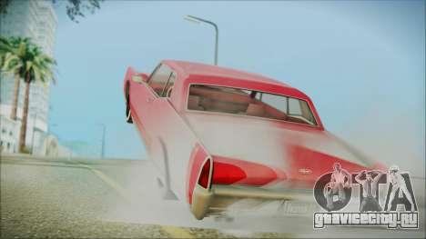 GTA 5 Vapid Chino Bobble Version IVF для GTA San Andreas вид слева