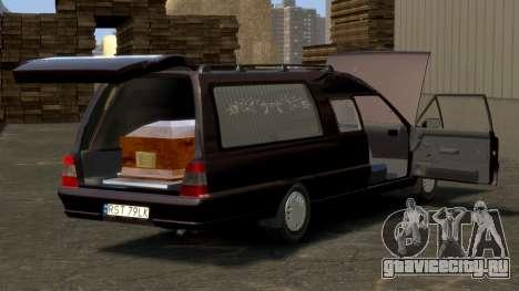 Daewoo-FSO Polonez Bella DC Hearse 1998 для GTA 4 двигатель