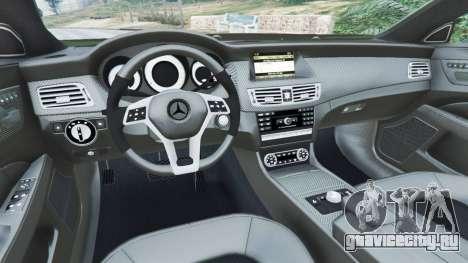 Mercedes-Benz CLS 63 AMG v1.0 для GTA 5 вид справа