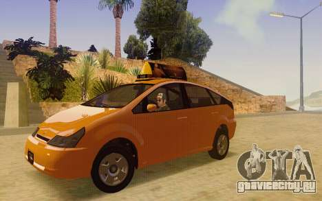 Karin Dilettante Taxi для GTA San Andreas