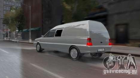 Daewoo-FSO Polonez Bella Armored 2000 для GTA 4 вид снизу