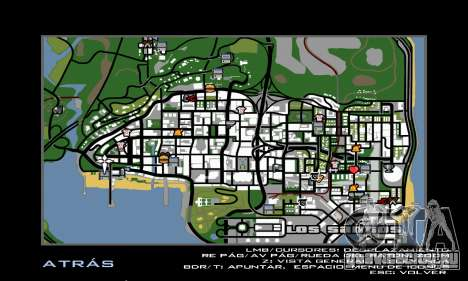 HD Radar Icons для GTA San Andreas второй скриншот