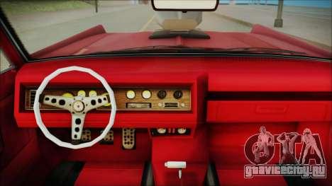 GTA 5 Vapid Chino Bobble Version IVF для GTA San Andreas вид справа