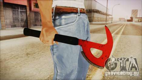 Plane Axe from The Forest для GTA San Andreas третий скриншот