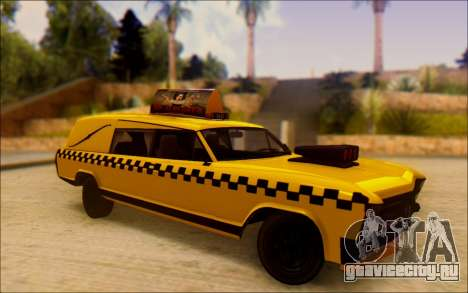 Albany Lurcher Taxi для GTA San Andreas