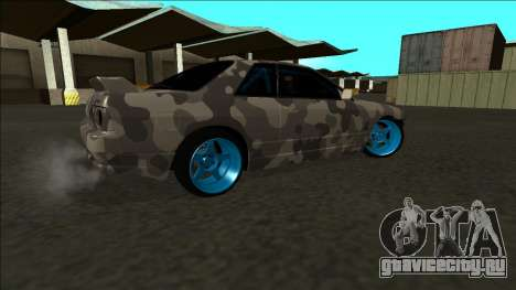 Nissan Skyline R32 Drift для GTA San Andreas салон
