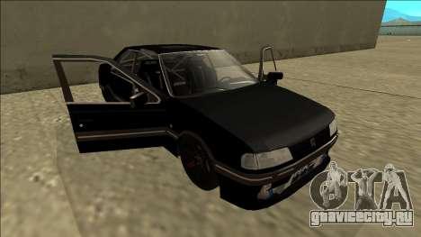 Peugeot 405 Drift для GTA San Andreas вид сбоку