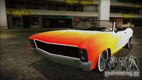 GTA 5 Albany Buccaneer Bobble Version для GTA San Andreas вид сверху