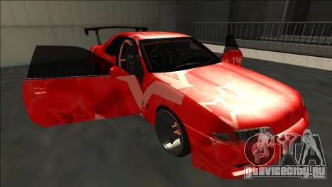 Nissan Skyline R32 Drift Red Star для GTA San Andreas вид снизу