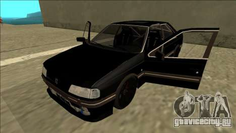 Peugeot 405 Drift для GTA San Andreas вид сзади