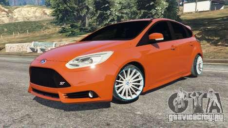 Ford Focus ST (C346) 2013 для GTA 5 вид справа