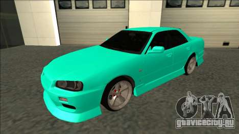 Nissan Skyline ER34 Drift для GTA San Andreas