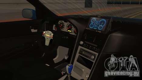 Nissan Skyline R34 FnF 4 для GTA San Andreas вид справа