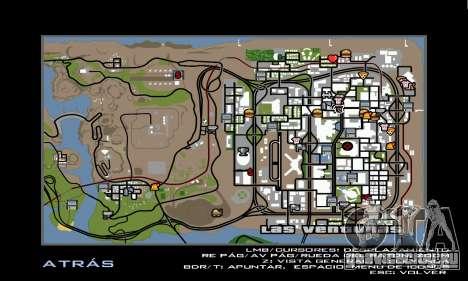 HD Radar Icons для GTA San Andreas четвёртый скриншот