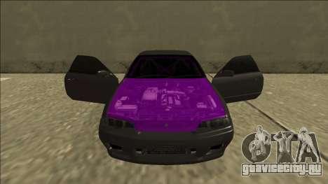 Nissan Skyline R32 Drift для GTA San Andreas вид сверху