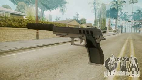 GTA 5 Silenced Pistol для GTA San Andreas второй скриншот
