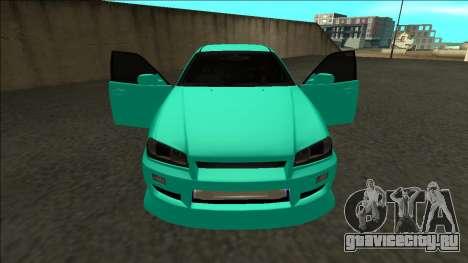 Nissan Skyline ER34 Drift для GTA San Andreas вид сверху