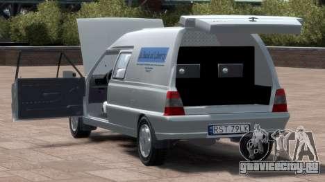 Daewoo-FSO Polonez Bella Armored 2000 для GTA 4 вид сверху