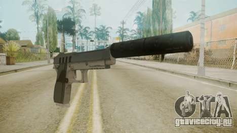 GTA 5 Silenced Pistol для GTA San Andreas