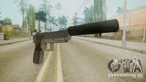 GTA 5 Silenced Pistol для GTA San Andreas