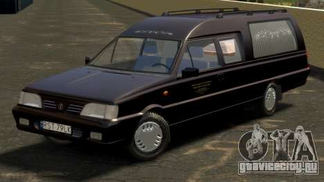 Daewoo-FSO Polonez Bella DC Hearse 1998 для GTA 4