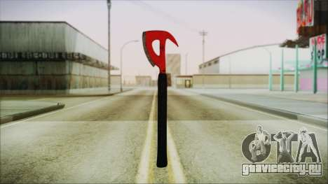Plane Axe from The Forest для GTA San Andreas