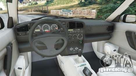 Volkswagen Corrado VR6 для GTA 5 вид справа