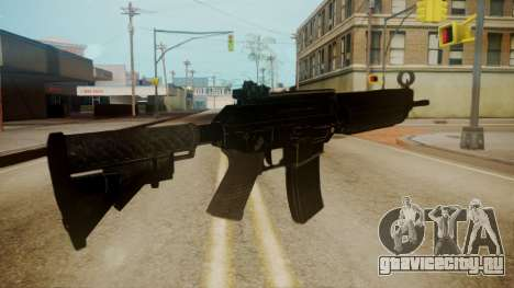 SIG-556 Patrol Rifle для GTA San Andreas третий скриншот