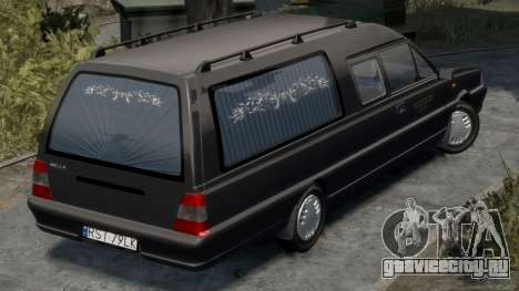 Daewoo-FSO Polonez Bella DC Hearse 1998 для GTA 4 вид справа