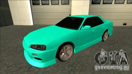 Nissan Skyline ER34 Drift для GTA San Andreas