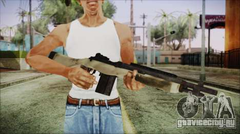 M308 PayDay 2 для GTA San Andreas третий скриншот