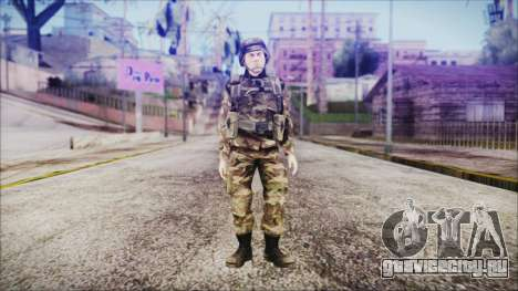 World In Conflict US Marine для GTA San Andreas второй скриншот