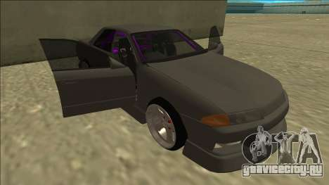 Nissan Skyline R32 Drift Sedan для GTA San Andreas колёса