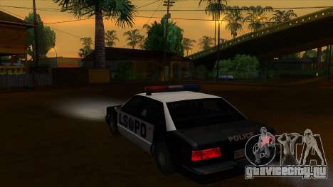 ENB Settings Janeair 1.0 для GTA San Andreas второй скриншот