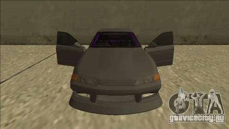 Nissan Skyline R32 Drift Sedan для GTA San Andreas двигатель
