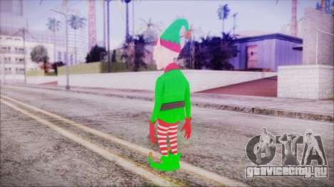 Christmas Elf v2 для GTA San Andreas третий скриншот