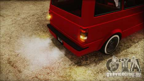 GTA 5 Declasse Moonbeam No Interior IVF для GTA San Andreas вид сзади