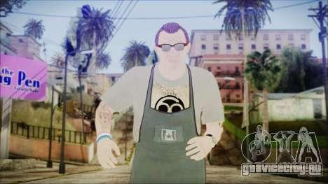 GTA 5 Ammu-Nation Seller 1 для GTA San Andreas