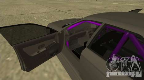 Nissan Skyline R32 Drift Sedan для GTA San Andreas вид снизу