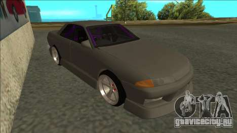 Nissan Skyline R32 Drift Sedan для GTA San Andreas вид слева