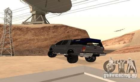 Тойота Хайлюкс 2012 актива Барра вела для GTA San Andreas
