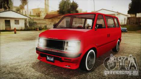 GTA 5 Declasse Moonbeam No Interior IVF для GTA San Andreas