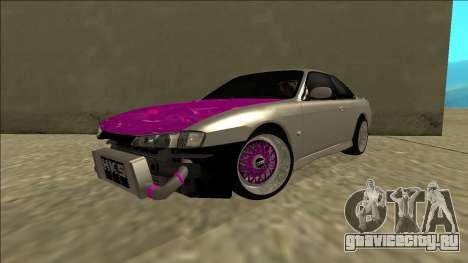 Nissan Silvia S14 Drift для GTA San Andreas вид сзади слева