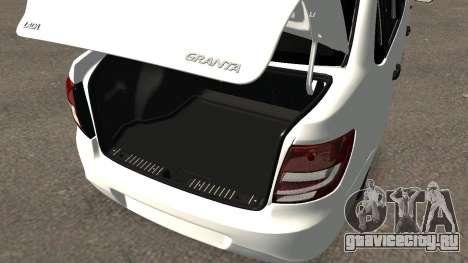 Lada Granlina для GTA San Andreas вид сбоку