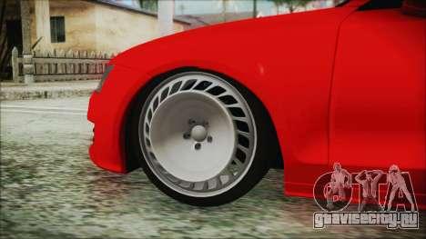 Audi A7 Messer v1 для GTA San Andreas вид сзади слева