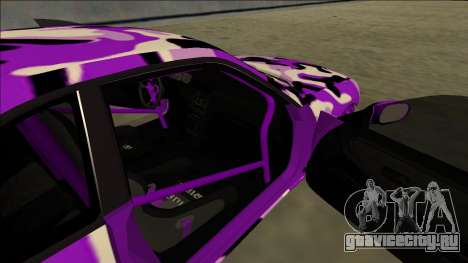 Nissan Skyline R33 Drift для GTA San Andreas вид сзади