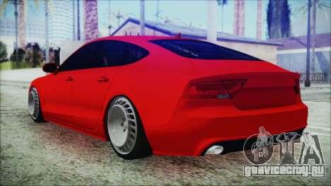 Audi A7 Messer v1 для GTA San Andreas вид слева