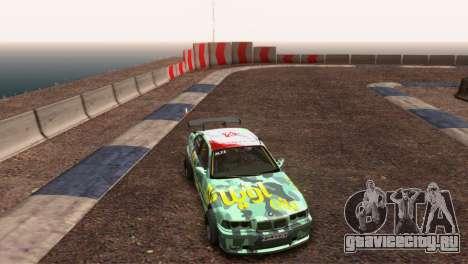 БМВ Е36 Полный Тюнинг для GTA San Andreas вид сзади