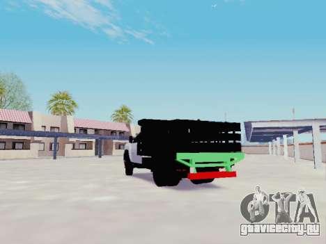 Chevrolet Silverado 3500 HD для GTA San Andreas вид сзади слева