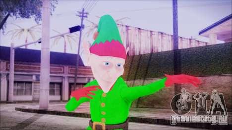 Christmas Elf v2 для GTA San Andreas